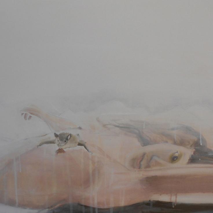 Piacere primordiale, acrilico su tela, cm 60×60, 2012
