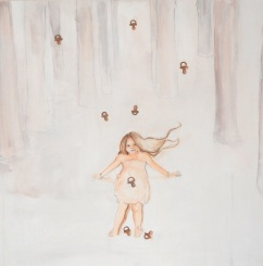 Pelle fragile, acrilico su tela, cm 60×60, 2012