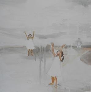 la danza della manna, 60x60cm,2012 copia