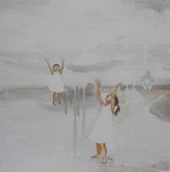 La danza della manna, acrilico su tela, cm 60X60,2012