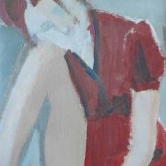 Polvere, cm 18×13, acrilico su lino, 2013 , SOLD