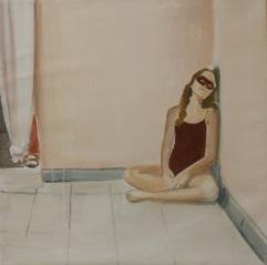 stanza n°1, acrilico su lino, cm 65x65, 2013, SOLD
