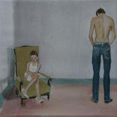 stanza n°3, acrilico su lino, cm 65x65, 2013