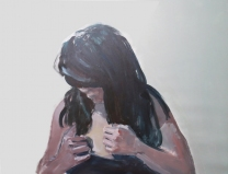 """On/Off""(serie), 2015, acrilico su tela, 60x65 cm"