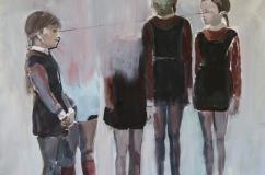 """On/Off""(serie), 2016, acrilico su tela, 75x110 cm"
