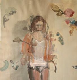 """""""Limbo"""", 2015, acrilico su lino , 70x65 cm"""